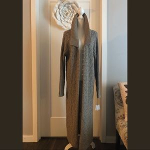 Jillian Jones Long Line Sweater Cardi NWT